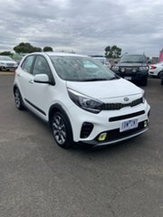 2018 Kia Picanto JA MY19 AO Edition White 4 Speed Automatic Hatchback.