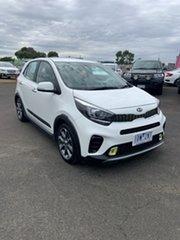 2018 Kia Picanto JA MY19 AO Edition White 4 Speed Automatic Hatchback.