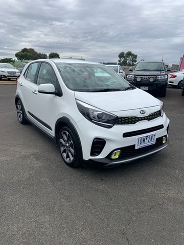 Used Kia Picanto JA MY19 AO Edition Warrnambool East, 2018 Kia Picanto JA MY19 AO Edition White 4 Speed Automatic Hatchback