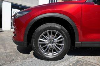 2017 Mazda CX-5 KE1072 Maxx SKYACTIV-Drive FWD Sport Red 6 Speed Sports Automatic Wagon.