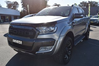 2016 Ford Ranger PX MkII Wildtrak Double Cab Grey 6 Speed Sports Automatic Utility