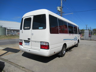 2002 Toyota Coaster White 5 Speed Manual Bus