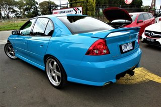 2005 Holden Commodore VZ SV6 Blue 5 Speed Sports Automatic Sedan