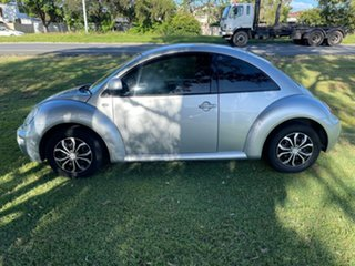 2001 Volkswagen Beetle 9C Coupe Silver 4 Speed Automatic Liftback