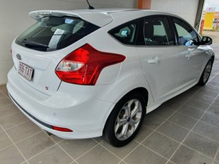 2013 Ford Focus LW MkII Sport PwrShift White 6 Speed Sports Automatic Dual Clutch Hatchback