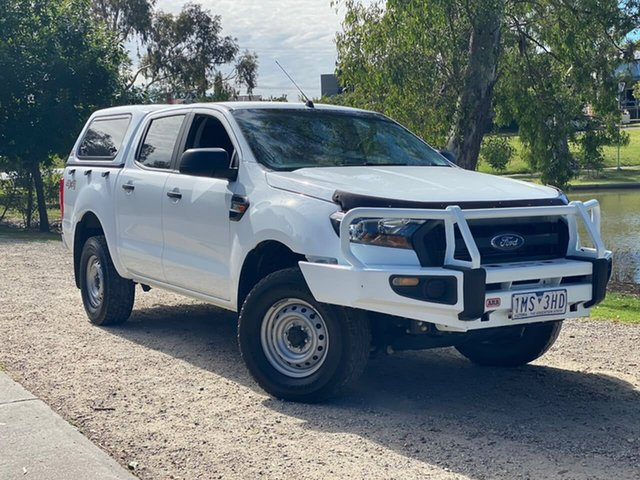 Used Ford Ranger PX MkII 2018.00MY XL Wodonga, 2018 Ford Ranger PX MkII 2018.00MY XL White 6 Speed Sports Automatic Utility