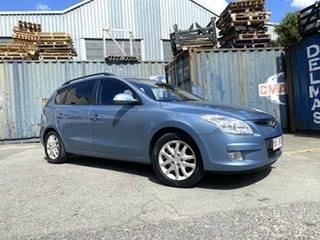 2009 Hyundai i30 FD MY09 SLX cw Wagon Blue 4 Speed Automatic Wagon.