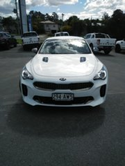 2018 Kia Stinger CK MY19 330S Fastback White 8 Speed Sports Automatic Sedan