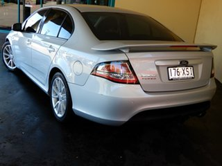 2013 Ford Falcon FG MK2 XR6T Silver 6 Speed Auto Seq Sportshift Sedan.