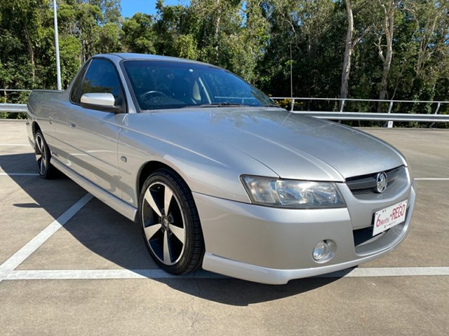Used Holden Commodore VZ SVZ Morayfield, 2007 Holden Commodore VZ SVZ Silver 5 Speed Automatic Utility