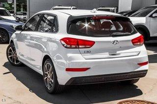 2021 Hyundai i30 PD.V4 MY21 Active White 6 Speed Sports Automatic Hatchback