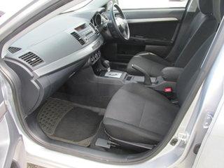 2011 Mitsubishi Lancer CJ MY11 SX Silver 6 Speed CVT Auto Sequential Sedan