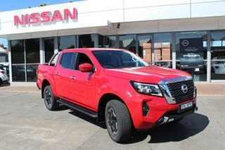 2021 Nissan Navara D23 MY21 ST-X Burning Red 6 Speed Manual Utility.