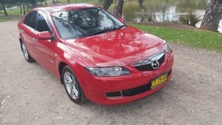 2007 Mazda 6 GG Series 2 MZR-CD Red Manual Hatchback.