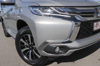 2017 Mitsubishi Pajero Sport QE MY17 GLS Sterling Silver 8 Speed Sports Automatic Wagon.