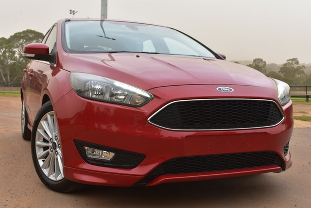 Used Ford Focus LZ Sport St Marys, 2016 Ford Focus LZ Sport Red 6 Speed Automatic Hatchback