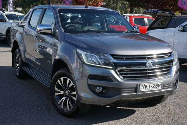 Used Holden Colorado RG MY16 LTZ Space Cab Phillip, 2016 Holden Colorado RG MY16 LTZ Space Cab Grey 6 Speed Sports Automatic Utility