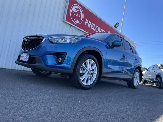 Used Mazda CX-5 KE1071 Grand Touring SKYACTIV-Drive AWD Bundaberg, 2012 Mazda CX-5 KE1071 Grand Touring SKYACTIV-Drive AWD Blue 6 Speed Sports Automatic Wagon