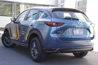 2021 Mazda CX-5 KF4WLA Touring SKYACTIV-Drive i-ACTIV AWD Eternal Blue 6 Speed Sports Automatic
