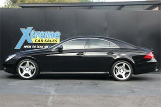 2008 Mercedes-Benz CLS-Class C219 MY08 CLS350 Coupe Black 7 Speed Sports Automatic Sedan