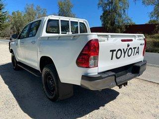2016 Toyota Hilux GUN126R SR White Manual Utility
