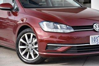 2019 Volkswagen Golf 7.5 MY20 110TSI DSG Comfortline Red 7 Speed Sports Automatic Dual Clutch.