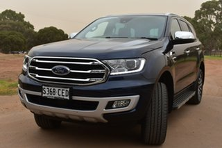 2020 Ford Everest UA II 2020.25MY Titanium Blue 10 Speed Sports Automatic SUV