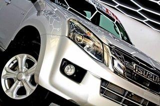 2016 Isuzu D-MAX TF MY15.5 SX HI-Ride (4x2) Silver 5 Speed Automatic Crew Cab Utility.