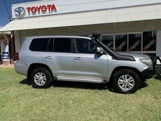 2013 Toyota Landcruiser VDJ200R MY12 GXL (4x4) Silver Pearl 6 Speed Automatic Wagon.