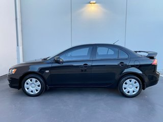 2008 Mitsubishi Lancer CJ MY08 ES Black 6 Speed Constant Variable Sedan