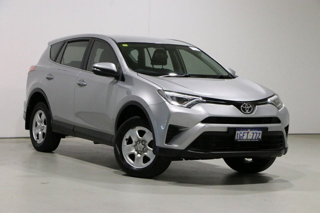 Used Toyota RAV4 ZSA42R MY17 GX (2WD) Bentley, 2017 Toyota RAV4 ZSA42R MY17 GX (2WD) Silver Continuous Variable Wagon