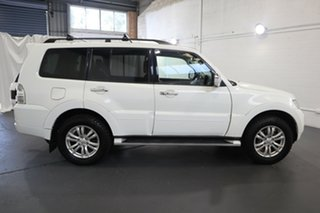 2016 Mitsubishi Pajero NX MY16 GLS White 5 Speed Sports Automatic Wagon