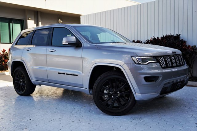 New Jeep Grand Cherokee WK MY21 Night Eagle Cairns, 2021 Jeep Grand Cherokee WK MY21 Night Eagle Billet 8 Speed Sports Automatic Wagon