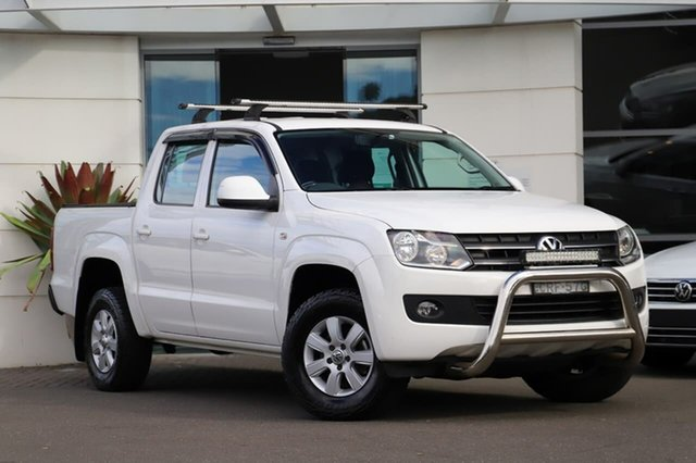 Used Volkswagen Amarok 2H MY13 TDI420 4Motion Perm Sutherland, 2013 Volkswagen Amarok 2H MY13 TDI420 4Motion Perm White 8 Speed Automatic Utility