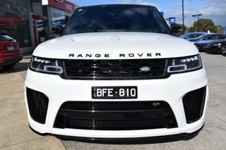 2019 Land Rover Range Rover Sport L494 20MY SVR White 8 Speed Sports Automatic Wagon.