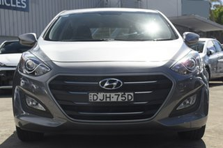 2016 Hyundai i30 GD4 Series 2 Active Grey 6 Speed Automatic Hatchback