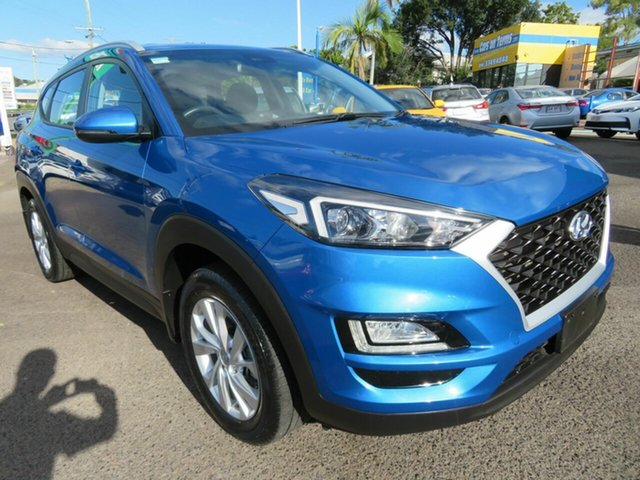Used Hyundai Tucson TL3 MY19 Active X 2WD Mount Gravatt, 2019 Hyundai Tucson TL3 MY19 Active X 2WD Blue 6 Speed Automatic Wagon