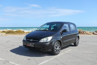 2008 Hyundai Getz TB MY07 S Black 4 Speed Automatic Hatchback