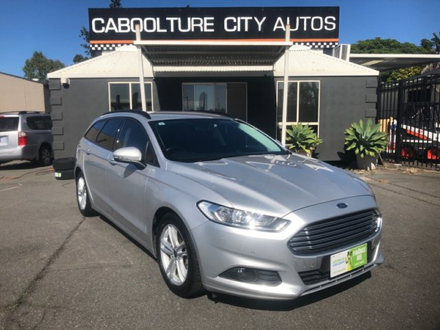 Used Ford Mondeo MD Ambiente TDCi Morayfield, 2017 Ford Mondeo MD Ambiente TDCi Silver 6 Speed Automatic Wagon