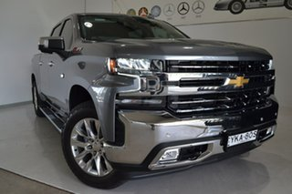 2020 Chevrolet Silverado T1 MY21 Grey 10 Speed Automatic Utility