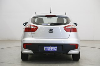 2016 Kia Rio YB MY17 S Silver 4 Speed Sports Automatic Hatchback