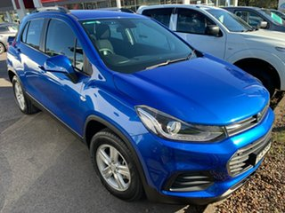 2016 Holden Trax TJ MY17 LS Blue 6 Speed Automatic Wagon