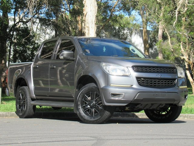 Used Holden Colorado RG MY13 LX Crew Cab, 2013 Holden Colorado RG MY13 LX Crew Cab Grey 6 Speed Sports Automatic Utility