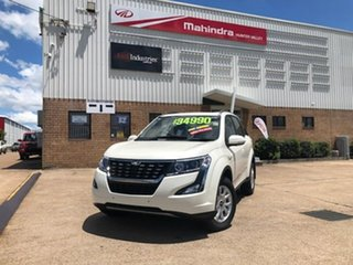 2020 Mahindra XUV500 MY19 W10 AWD White 6 Speed Automatic Wagon.