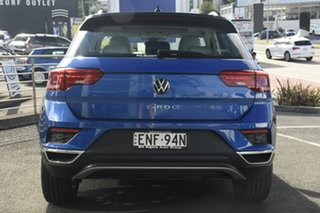 2021 Volkswagen T-ROC A1 MY21 110TSI Style Ravenna Blue 8 Speed Sports Automatic Wagon