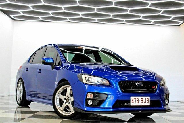 Used Subaru WRX MY16 Premium (AWD) Burleigh Heads, 2015 Subaru WRX MY16 Premium (AWD) Blue 6 Speed Manual Sedan