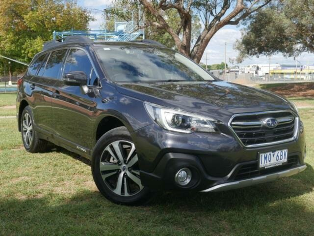 Pre-Owned Subaru Outback MY17 2.5i AWD Wangaratta, 2018 Subaru Outback MY17 2.5i AWD Grey Continuous Variable Wagon