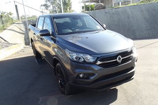 2020 Ssangyong Musso Q201 MY20.5 Ultimate Crew Cab XLV Grey 6 Speed Sports Automatic Utility.