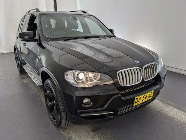 Used BMW X5 E70 SD Steptronic Maryville, 2008 BMW X5 E70 SD Steptronic Black 6 Speed Sports Automatic Wagon