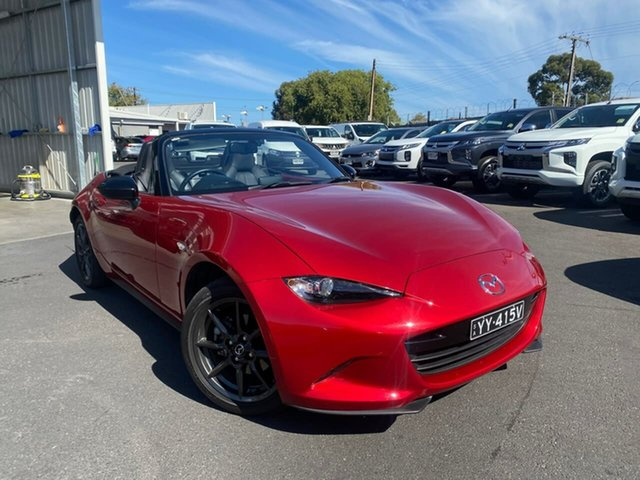 Used Mazda MX-5 ND GT SKYACTIV-Drive Hillcrest, 2016 Mazda MX-5 ND GT SKYACTIV-Drive Red 6 Speed Sports Automatic Roadster